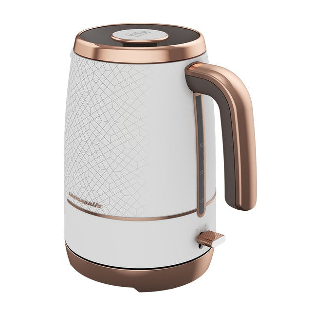 BEKO KETTLE WKM8306B COSMOPOLIS WHITE AND ROSE GOLD - Khubchands
