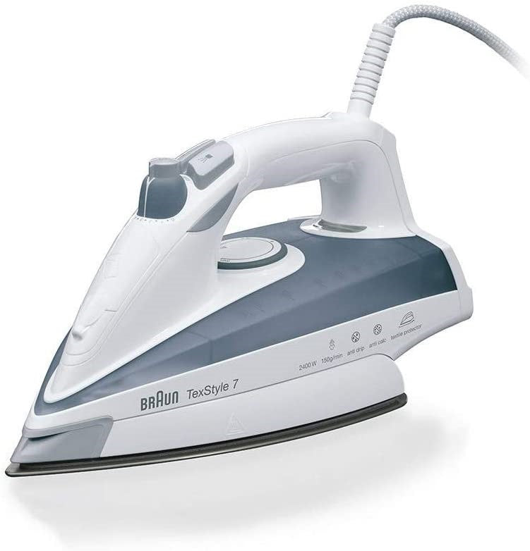 BRAUN TS735TP  STEAM IRON ELOXAL 2400W - Khubchands