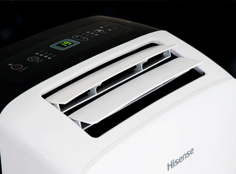 HISENSE APC09  PORTABLE AC UNIT - BUY OR RENT - - Khubchands