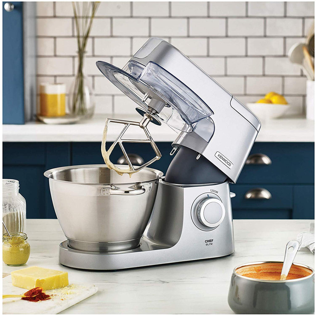 KENWOOD KVC5320S ELITE CHEF STAND MIXER - 1200W - Khubchands