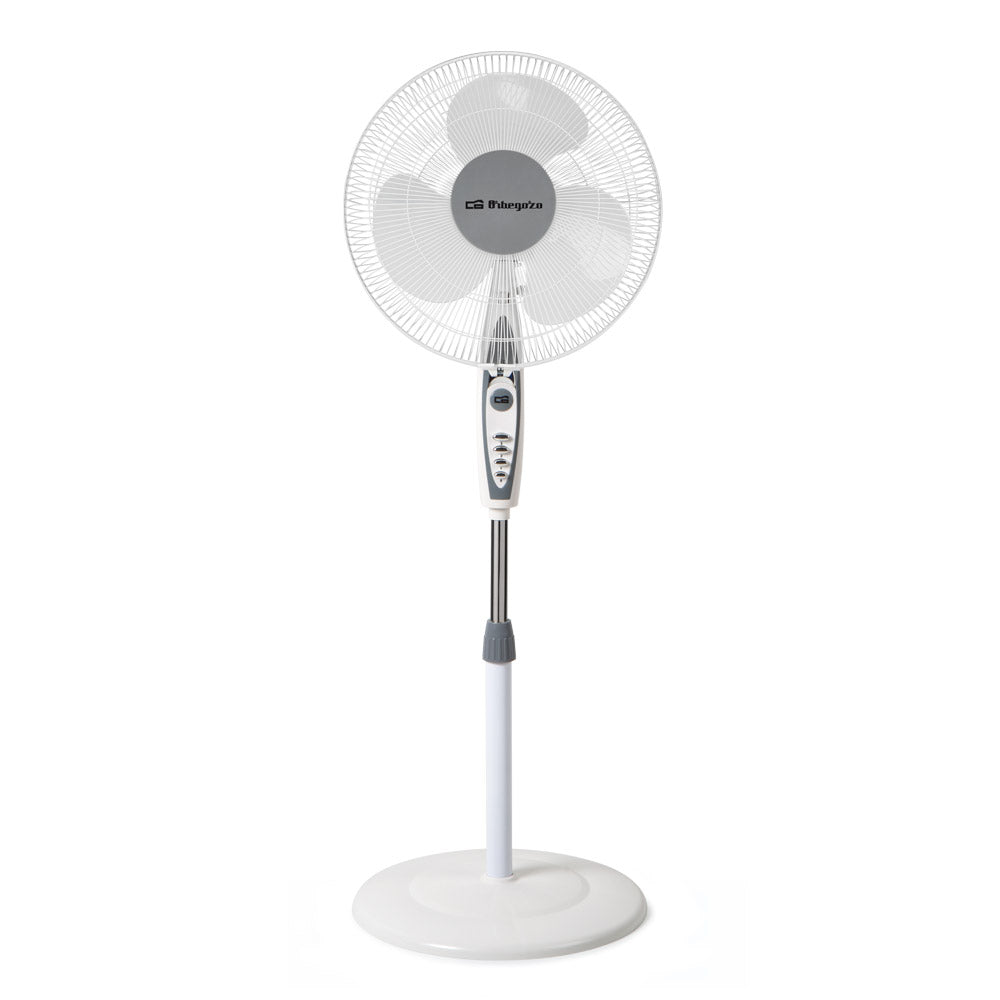 "ORBEGOZO SF0147 STANDING FAN 40CM 16"" - Khubchands"