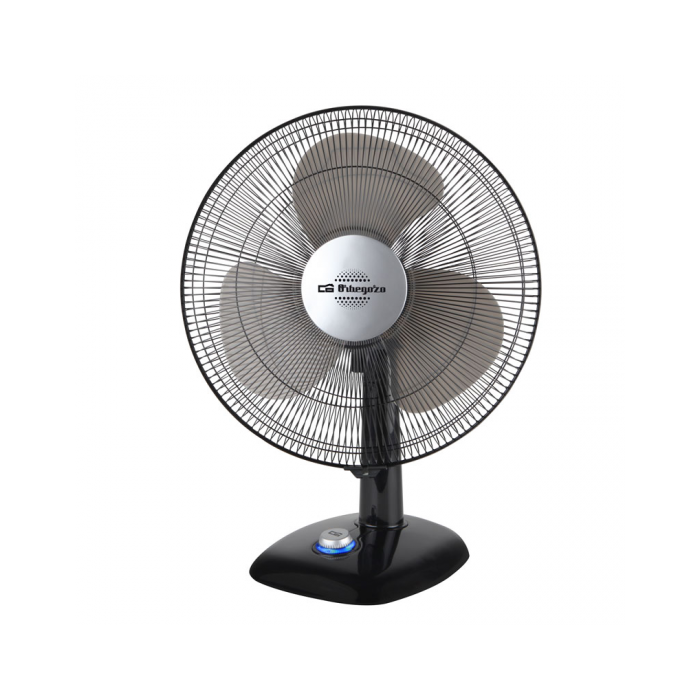 "ORBEGOZO TF0124 8"" DESKTOP  FAN 20CM IN BLACK - Khubchands"
