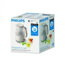 PHILIPS HD9334 CORDLESS KETTLE IN WHITE - Khubchands