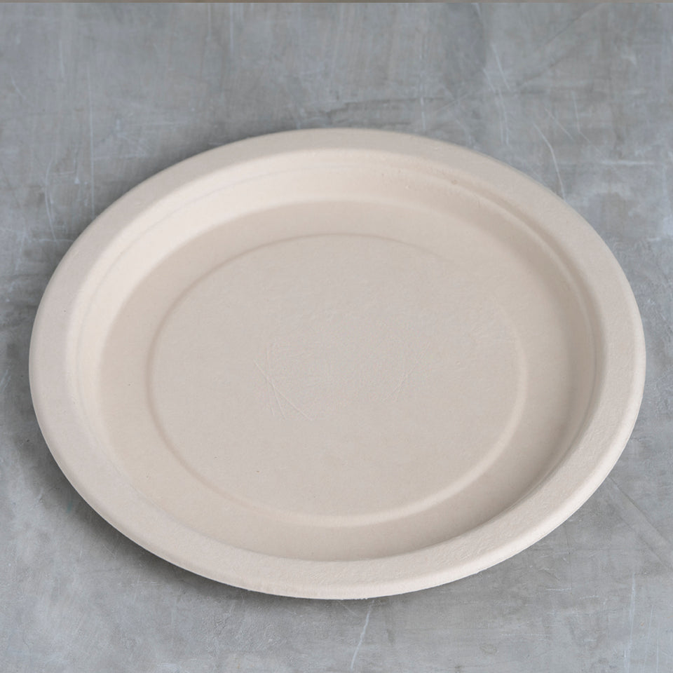 Compostable takeout plate