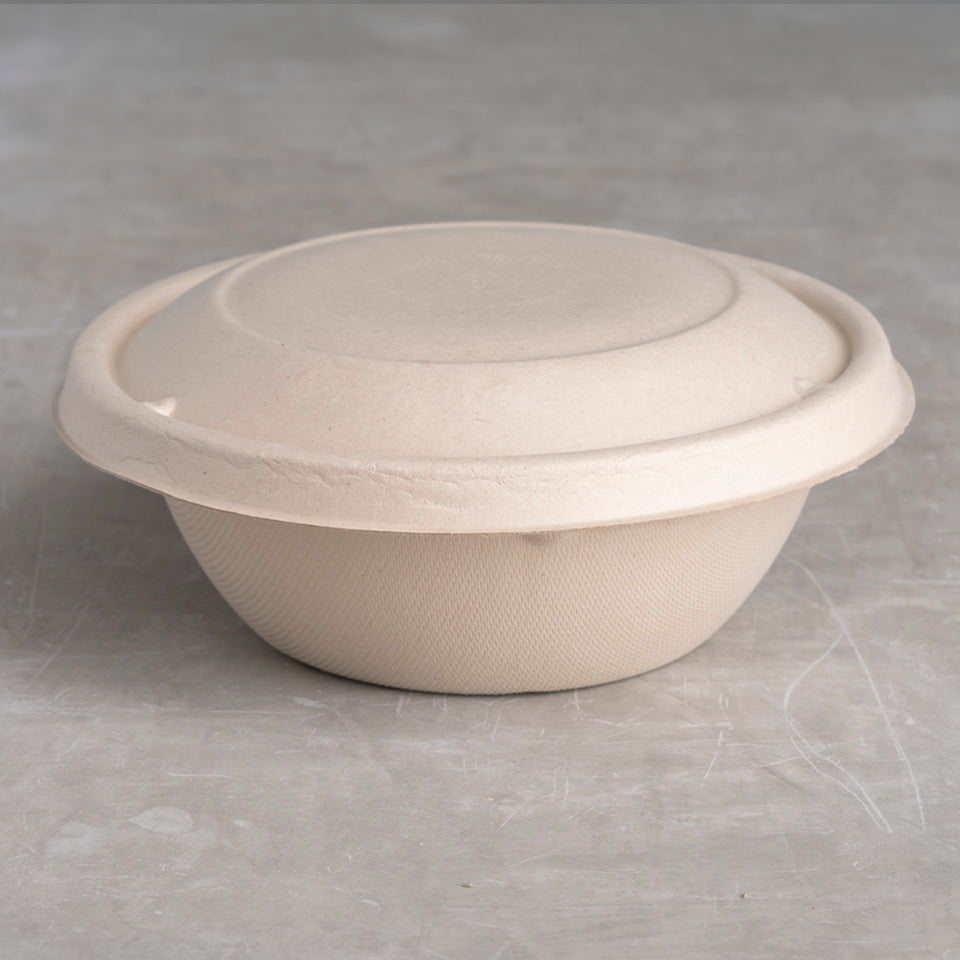 Lid for 24-32 oz Round Fiber Bowl