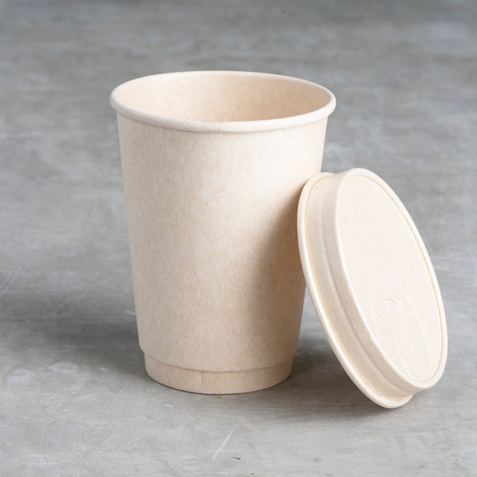 Sustainable coffee cup lid