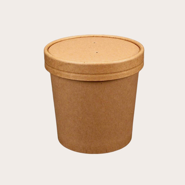 Biodegradable soup cup