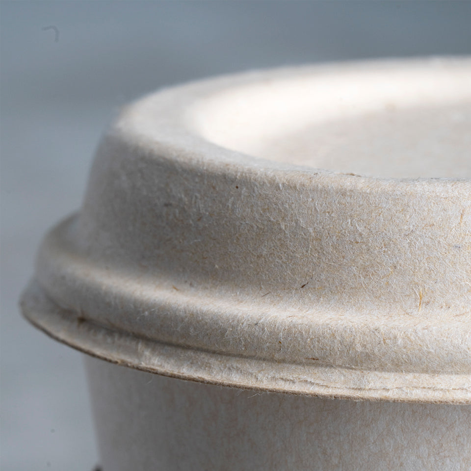 Biodegradable coffee cup lid