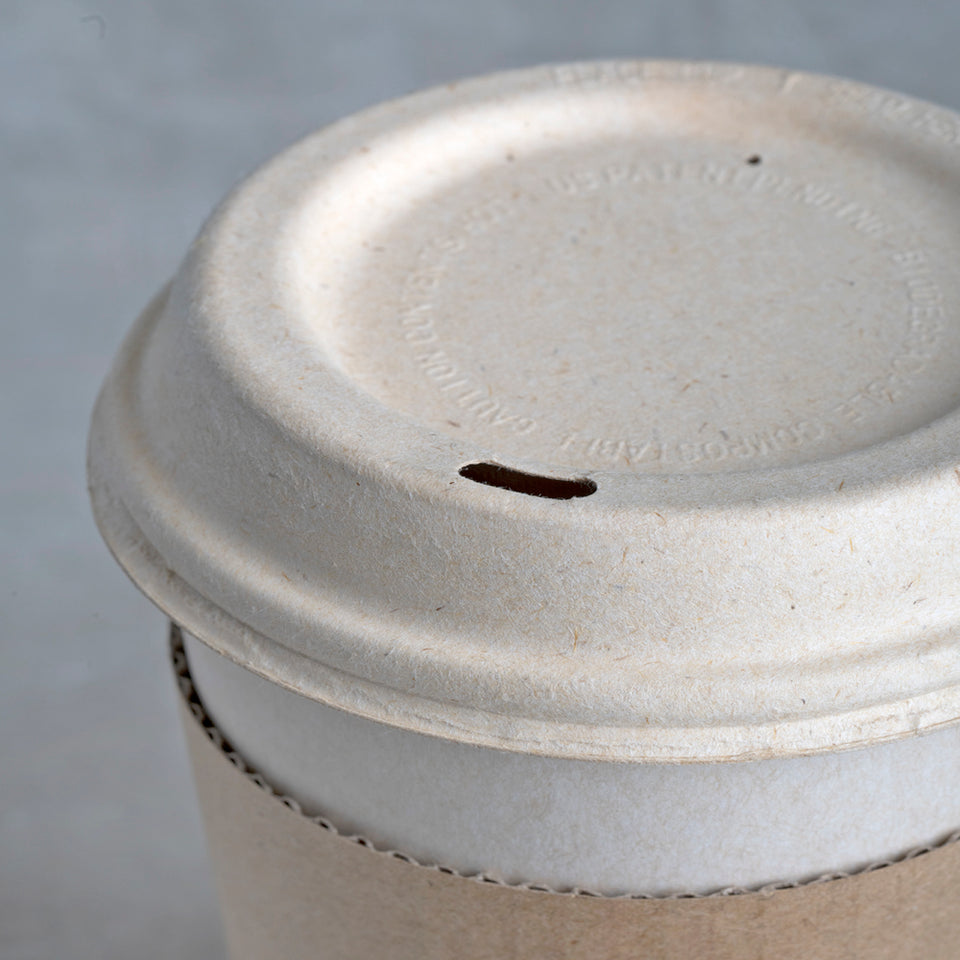 Biodegradable to go lid