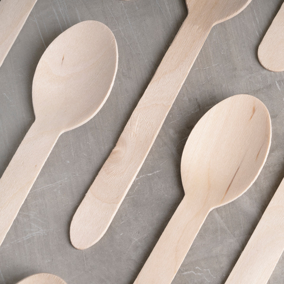 Durable sustainable spoon