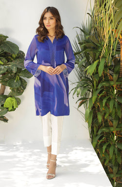 Blue Tunic-in hues of blue (tunic only)