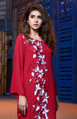 Red Claret tunic (One piece).