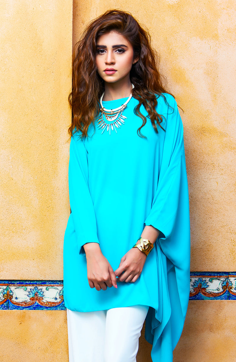 Turquoise Tunic (One piece).