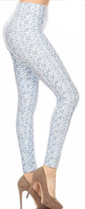 Leggings - Blue Mist