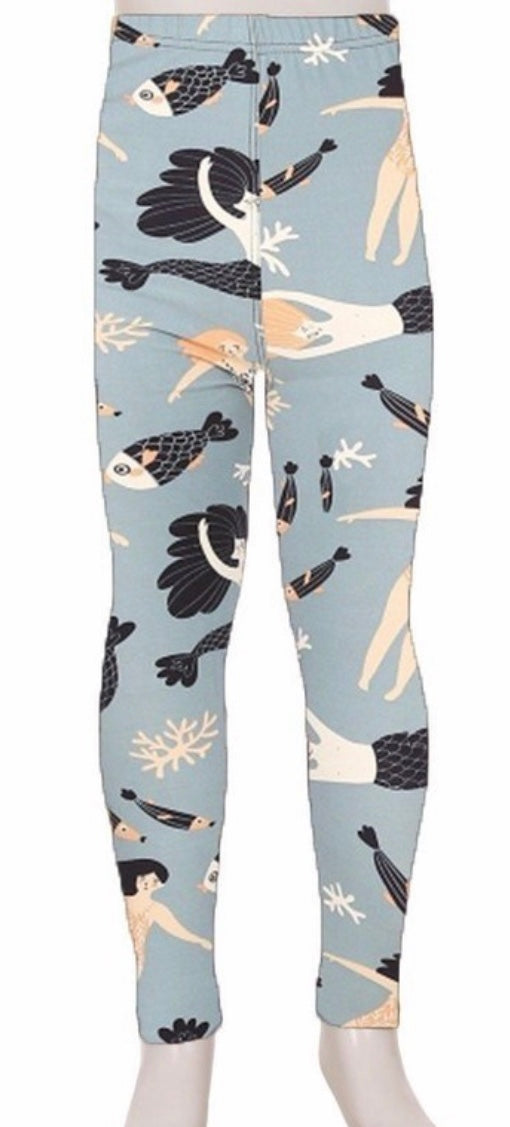 Leggings - Kids - Mermaids