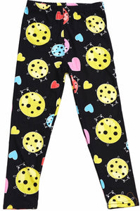 Leggings - Kids - Lady Bugs and Hearts