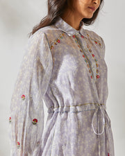 MIRROR WORK BANJARA SHIRT DRESS