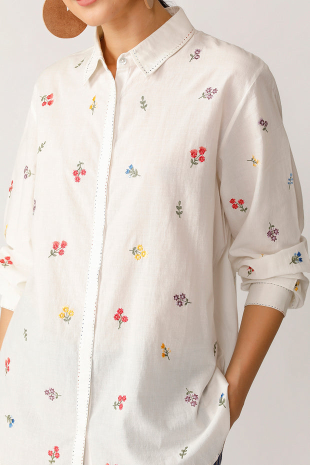 Elm Embroidered  shirt
