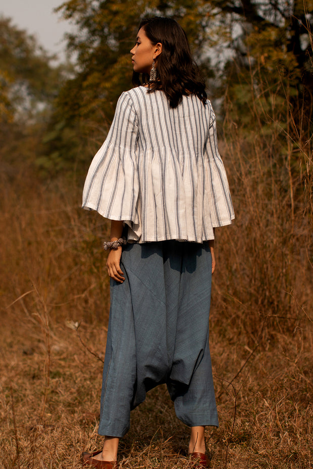 Chris Pleated top