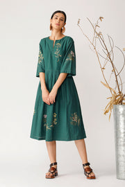 Rythm embroidered dress
