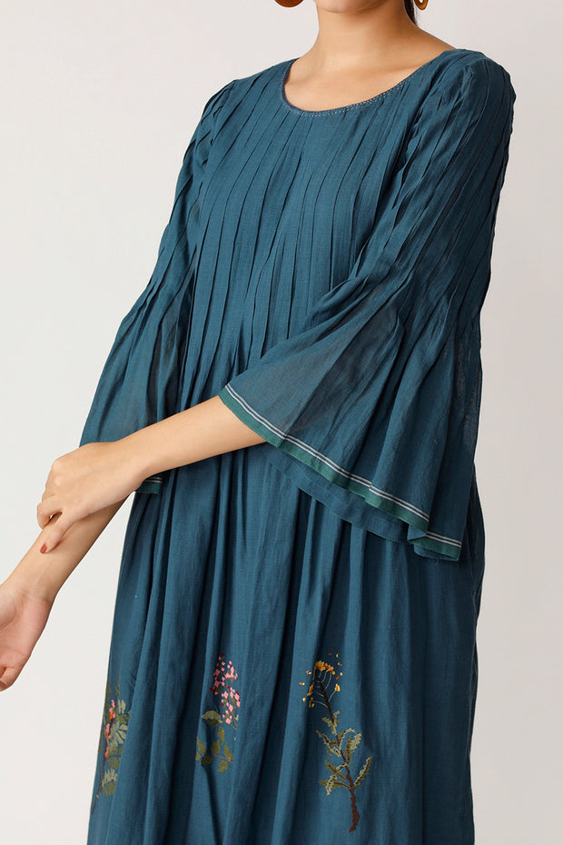 Box Elder Pleated Dress