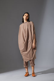 MATI COWL DRESS-AWBEIGE