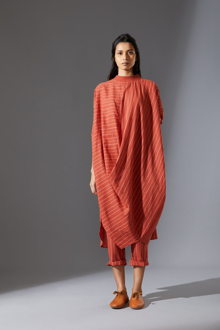 MATI COWL DRESS-AWRUST