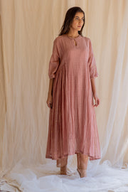 blush shabnam kurta and izaar set