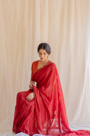 noor saree & Blouse