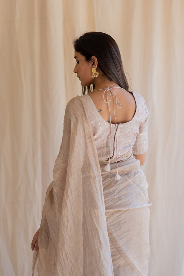 inara tissue saree & Blosue