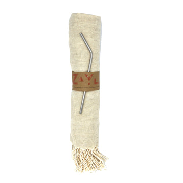 Côte d'Azur Linen Towel ╳ Natural