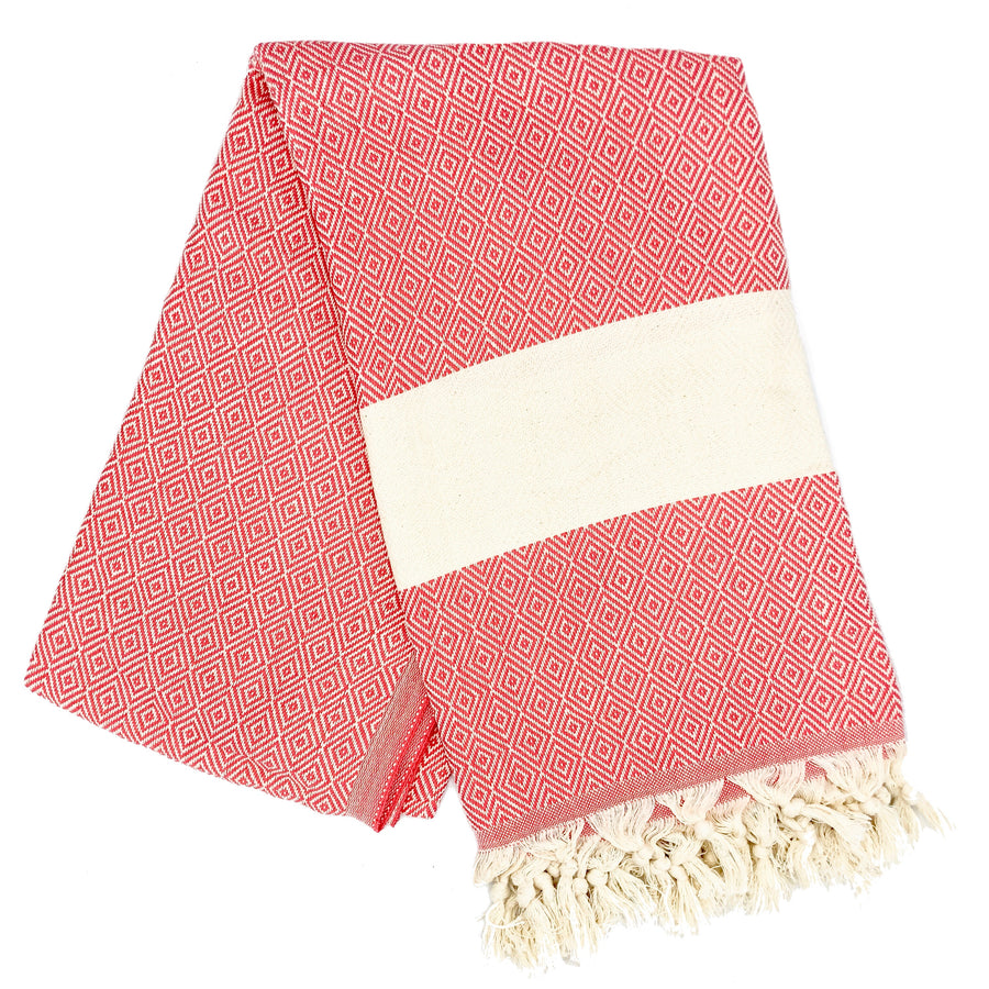 Kash Bamboo Towel  ╳ Hot Pink