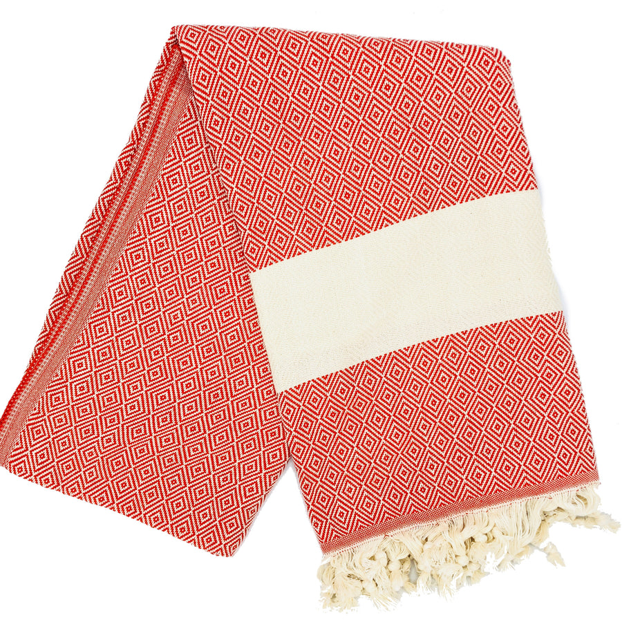 Kash Bamboo Towel ╳ Cherry