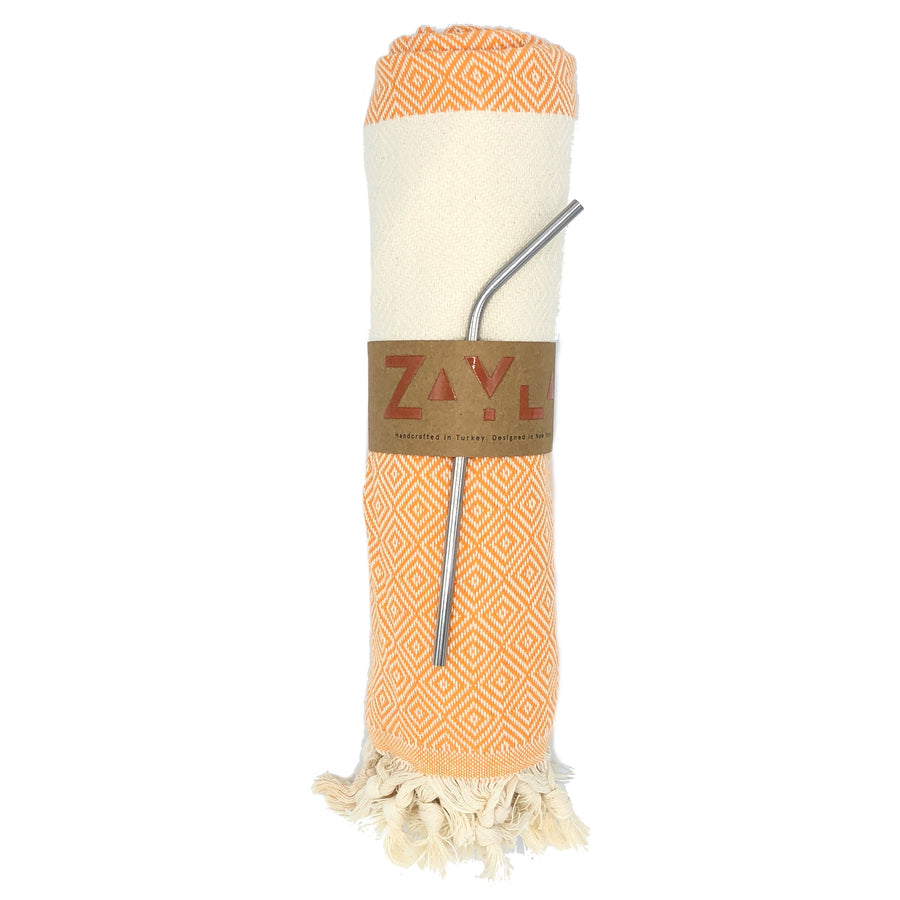 Kash Bamboo Towel ╳ Orange