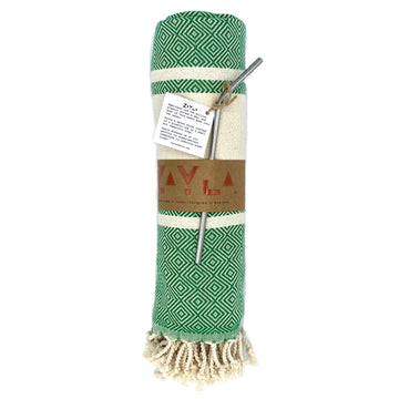 Kash Bamboo Towel ╳ Green