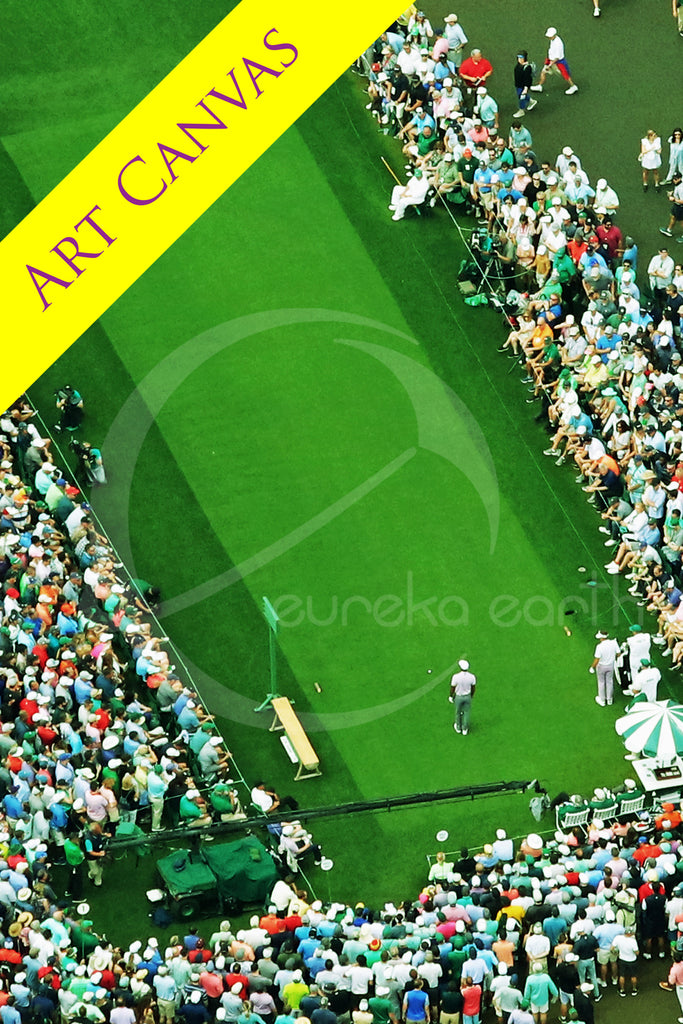 Canvas #1 (23 x 33) Tiger Woods - 2019 Masters Tournament