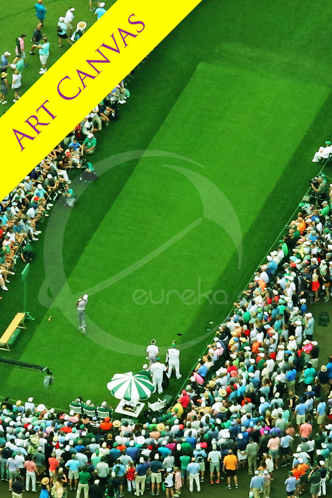 Canvas #2 (23 x 33) Tiger Woods - 2019 Masters Tournament