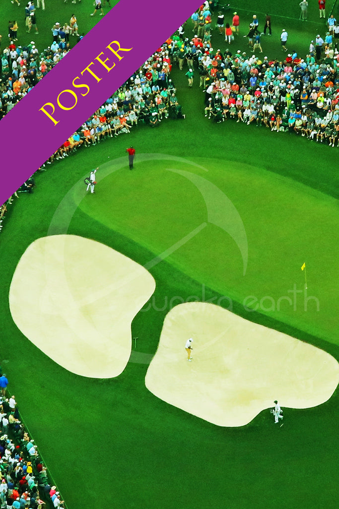 Poster SET #1, #2, and #3  (24 x 36) - Tiger Woods - at the 2019 Masters Tournament