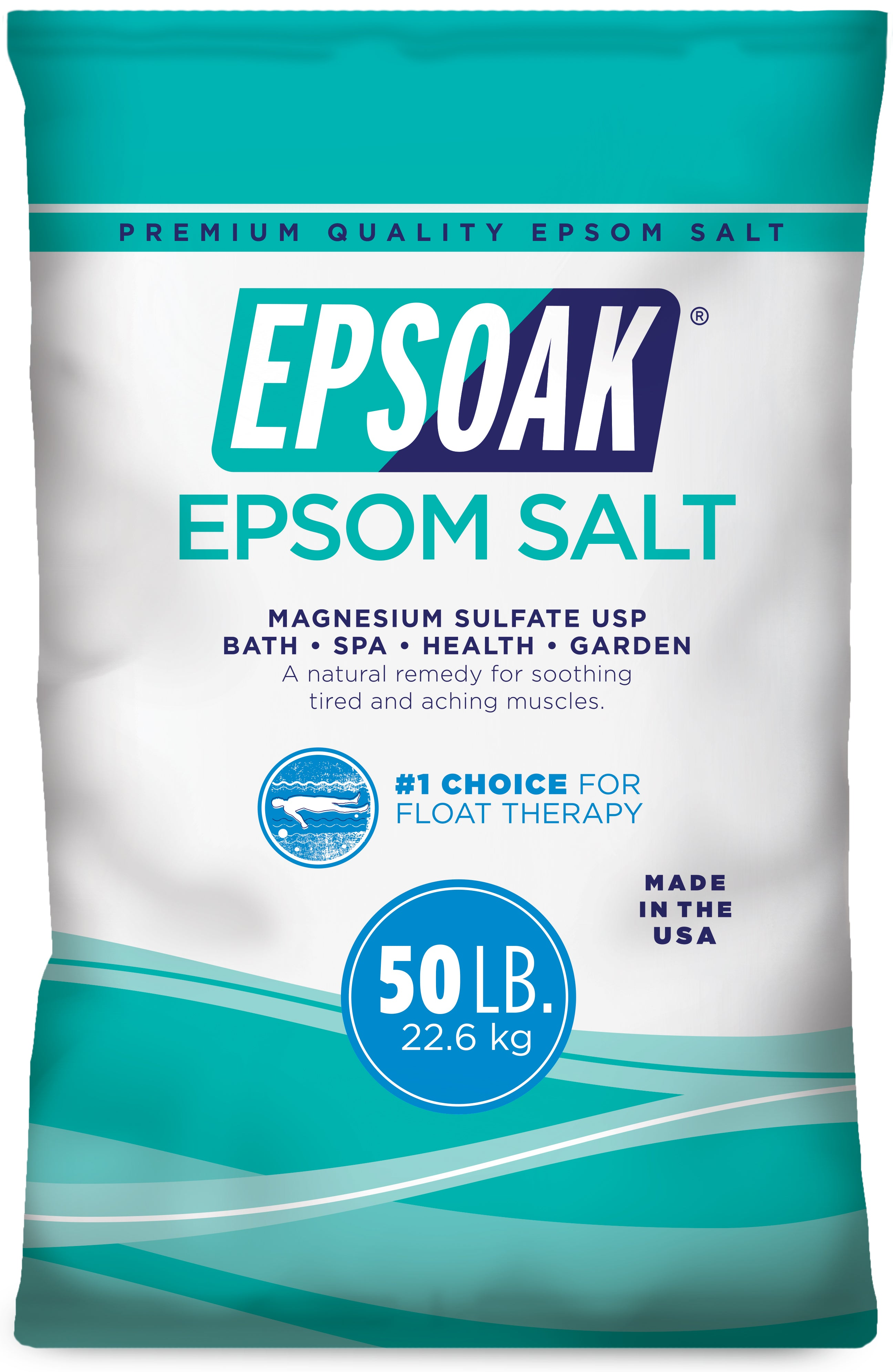 Epsoak Premium Epsom Salt for Floatation Tanks