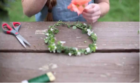 How to Craft the Perfect Lilac Festival Flower Crown