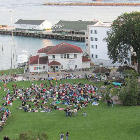 Mackinac Island Things to Do Nightlife