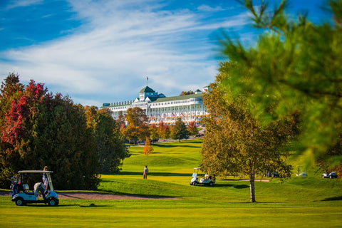 The Grand Hotel Golf Mackinac Island Michigan