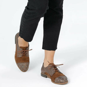 Women's Copper Color Shoes - SisBrothers