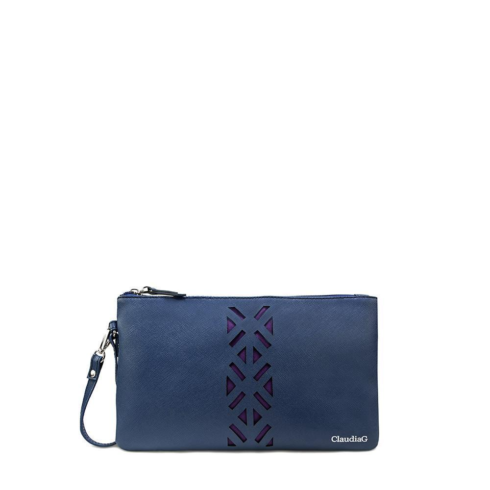 Leather PractiPouch Large - Sapphire - SisBrothers