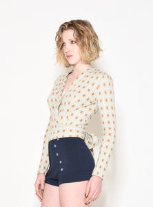 Quilted Wrap Top - SisBrothers