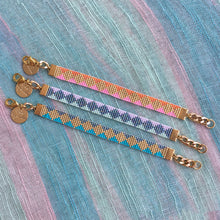 Load image into Gallery viewer, Skinny Soleil Bracelet - Yellow / Turquoise / Mint / Pink - SisBrothers
