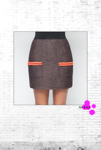 Wish Skirt Orange - SisBrothers