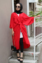 Load image into Gallery viewer, Women's Trendy Red Kimono Jacket - SisBrothers