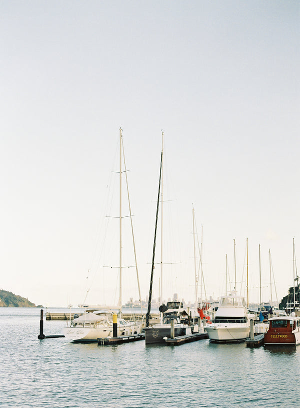 Sailboats at Bay