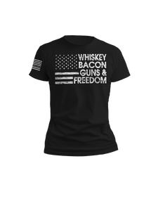 Whiskey Bacon Guns & Freedom